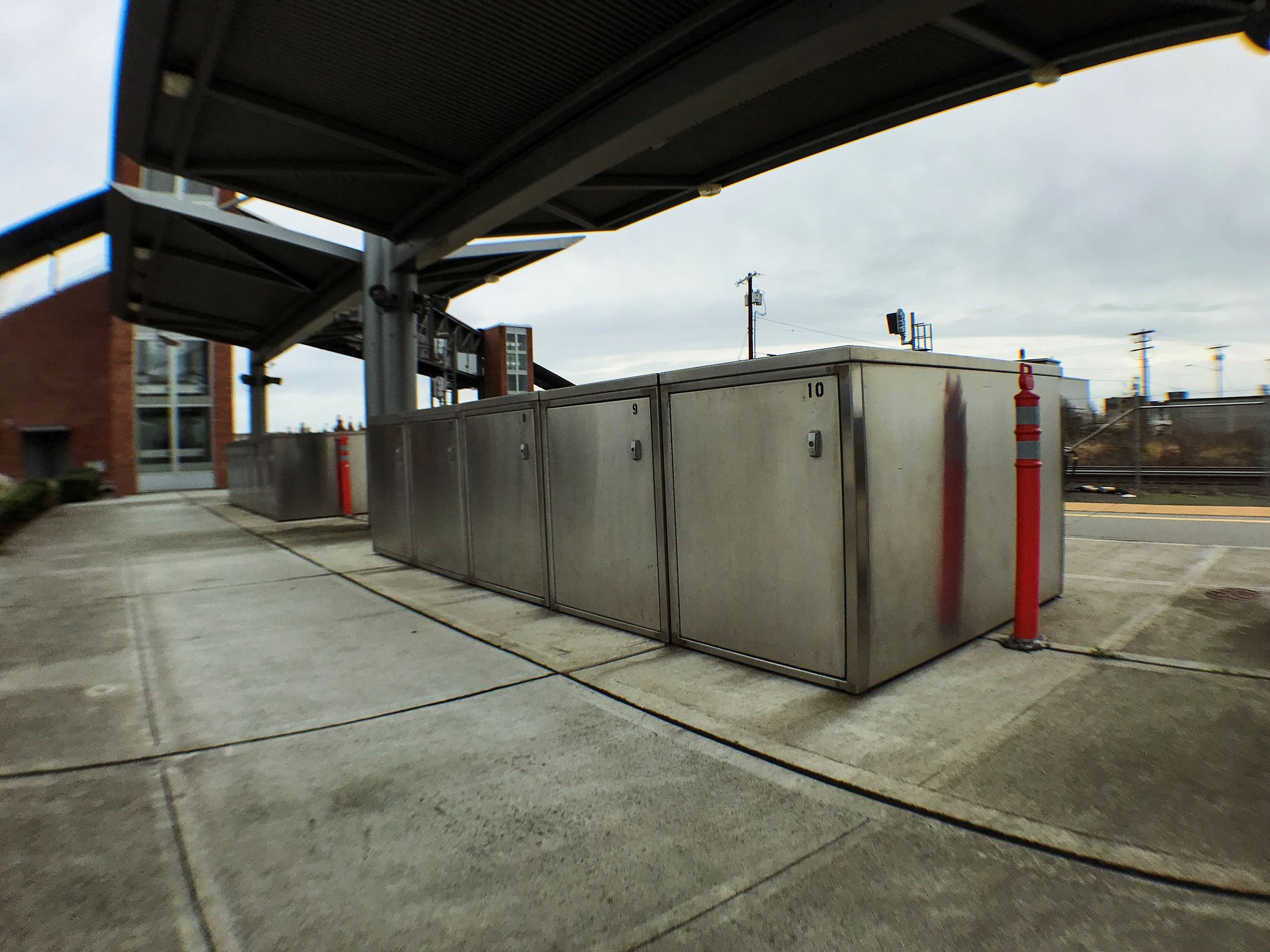 Bike Lockers [Everett Station]