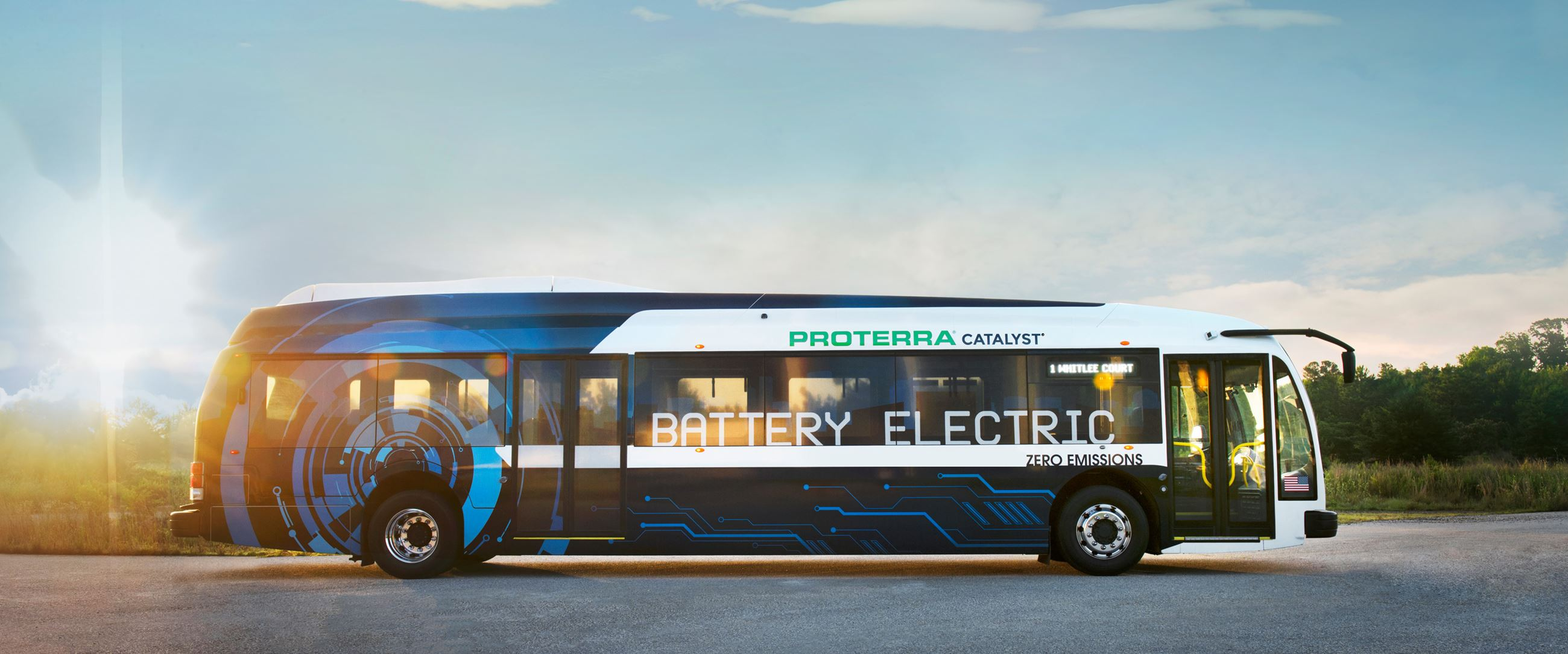 Image of Proterra bus